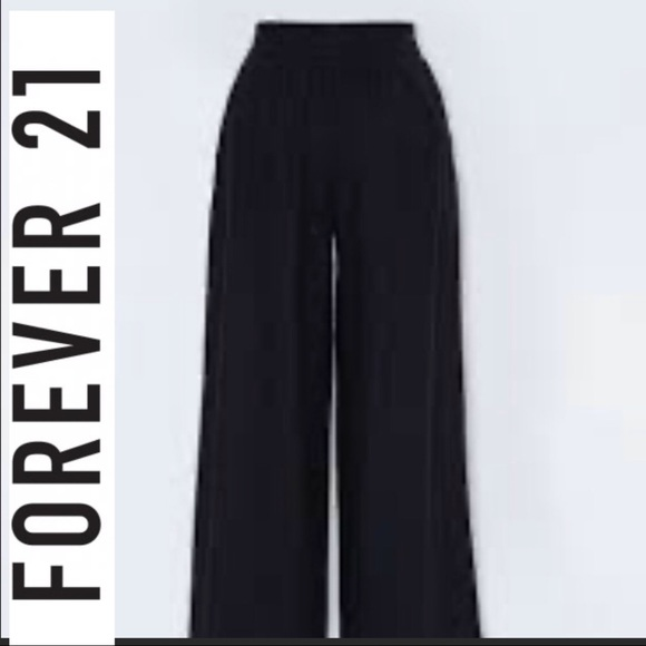 ❤️ 3/$30- Forever 21 wide leg pants